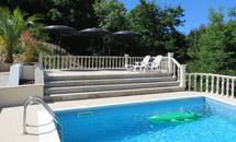 Prive zwembad...